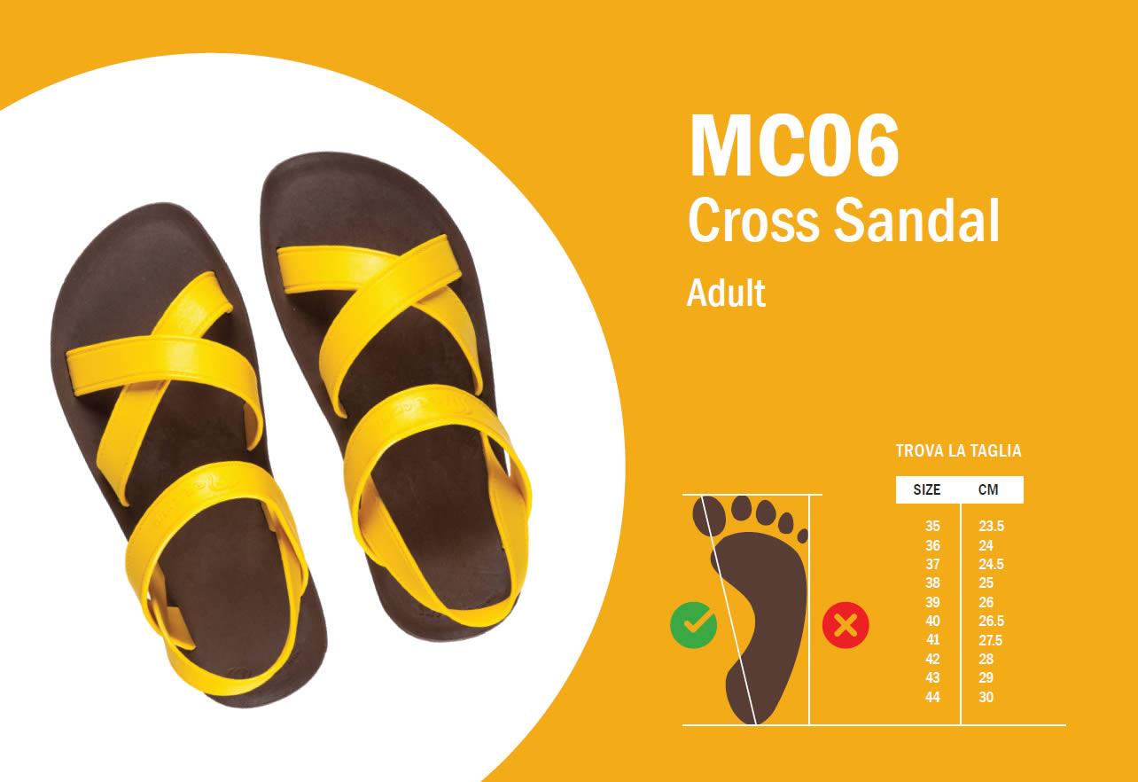 MC05 Guida alle taglie
