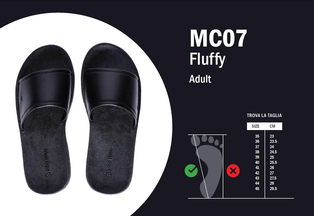 MC07 Guida alle taglie