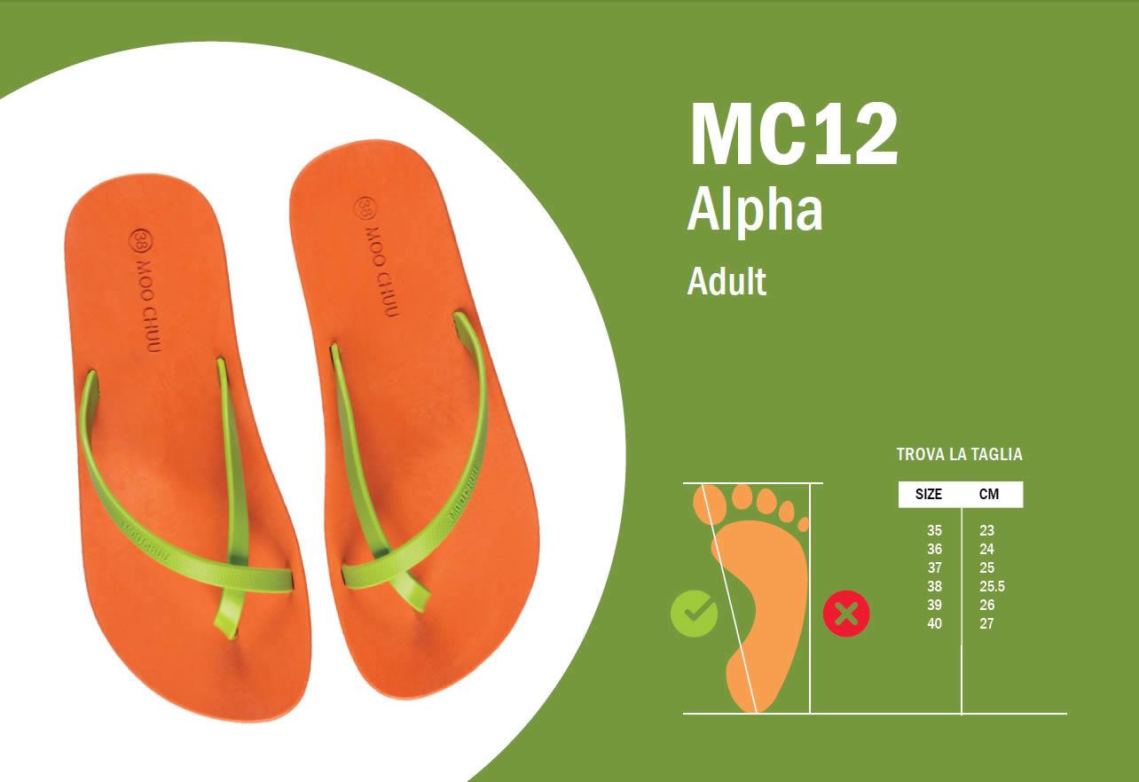 MC12 Guida alle taglie